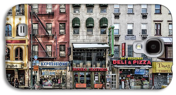 Town Galaxy S4 Case - A Cold Day In Ny by Peter Pfeiffer