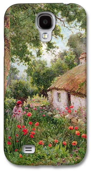 A Cottage Garden Galaxy S4 Case by Tom Clough
