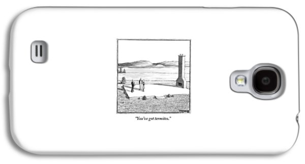 A Couple Stand In An Empty House Frame Galaxy S4 Case