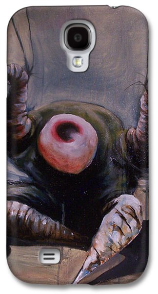 A Crucifixtion Galaxy S4 Case by Tyson Schroeder