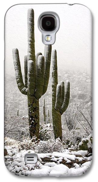 A Desert Southwest Snow Day  Galaxy S4 Case