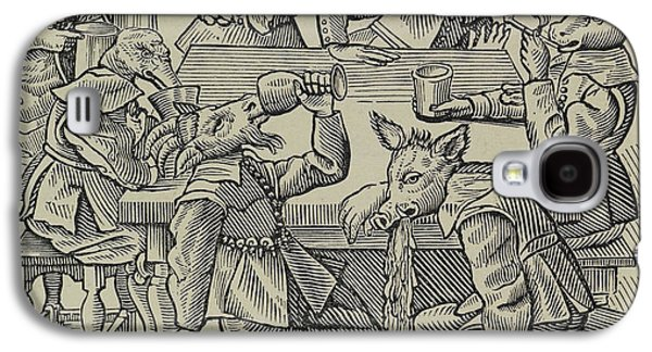 A Donkey Galaxy S4 Case by British Library