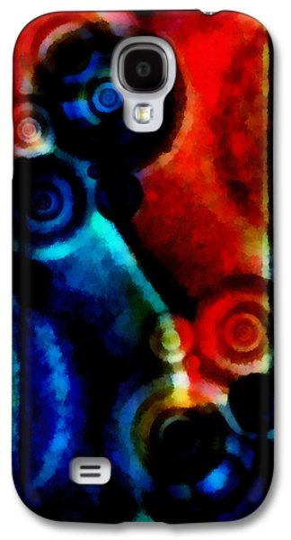 A Drop In The Puddle 1 Galaxy S4 Case by Angelina Vick