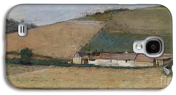 A Farm Among Hills Galaxy S4 Case by Theodore Robinson