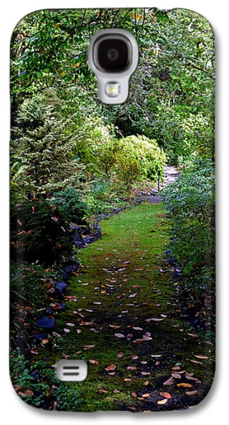 Galaxy S4 Case featuring the photograph A Garden Path by Anthony Baatz