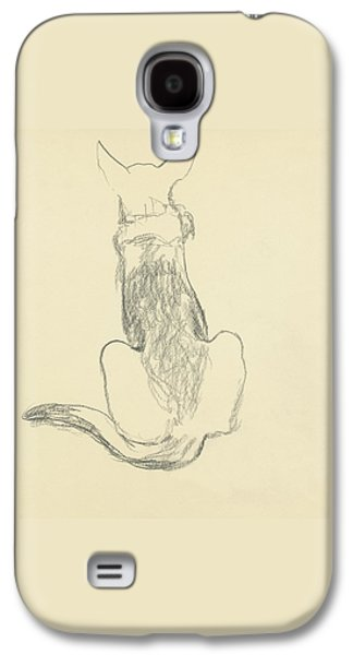 A German Shepherd Galaxy S4 Case