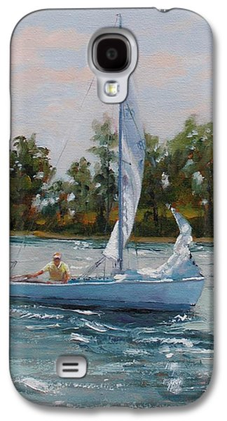 A Gift Of Memories Two On Rhodes 19 Galaxy S4 Case by Laura Lee Zanghetti