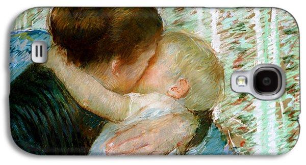 A Goodnight Hug  Galaxy S4 Case by Mary Stevenson Cassatt
