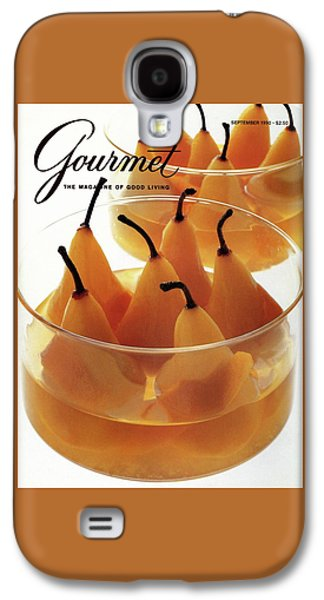 A Gourmet Cover Of Baked Pears Galaxy S4 Case