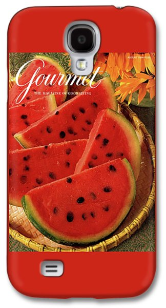 A Gourmet Cover Of Watermelon Sorbet Galaxy S4 Case by Romulo Yanes