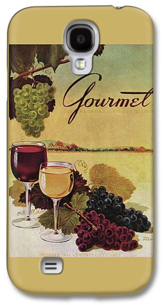 A Gourmet Cover Of Wine Galaxy S4 Case