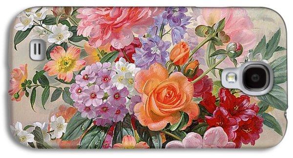 A High Summer Bouquet Galaxy S4 Case by Albert Williams