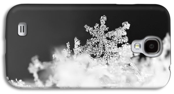 A Jewel Of A Snowflake Galaxy S4 Case by Rona Black