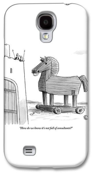 A Large Wooden Horse Galaxy S4 Case