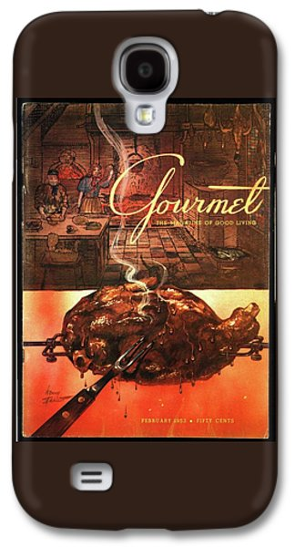 A Leg Of Lamb On A Spit Beneath An Etching Galaxy S4 Case