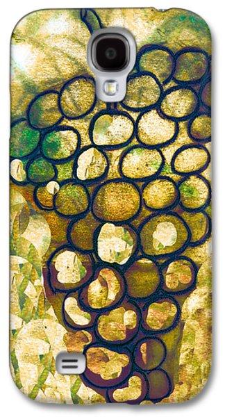 A Little Bit Abstract Grapes Galaxy S4 Case by Jo Ann