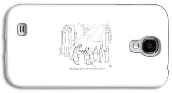 A Man To Priest As He Drinks The Wine Galaxy S4 Case