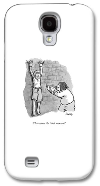 A Medieval Torturer Approaches A Hanging Galaxy S4 Case by Benjamin Schwartz