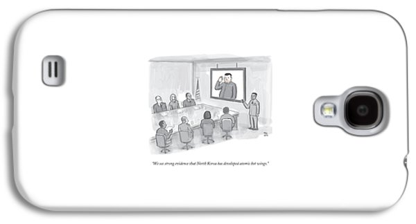 A Military Briefing Galaxy S4 Case by Paul Noth