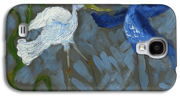 A Pair Of Birds In Paradise  Galaxy S4 Case by Cathy Peterson