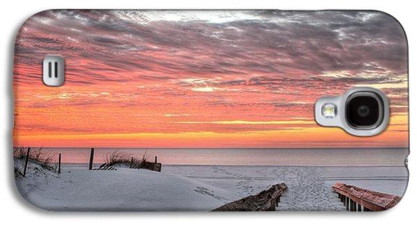 A Path To Paradise In Orange Beach Galaxy S4 Case