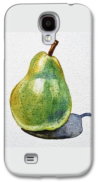 A Pear Galaxy S4 Case by Irina Sztukowski