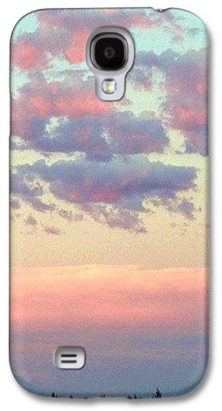 City Galaxy S4 Case - Summer Evening Under A Cotton by Blenda Studio