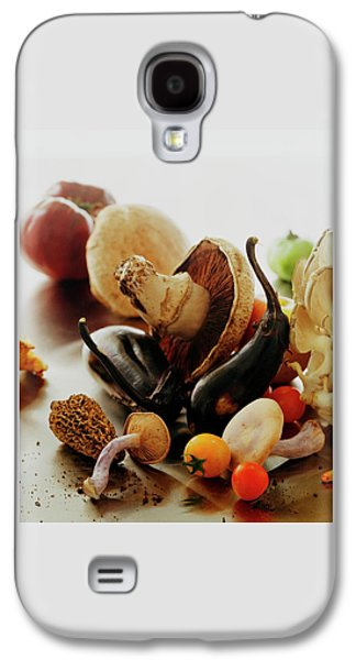 A Pile Of Vegetables Galaxy S4 Case by Romulo Yanes