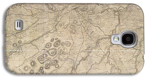 A Plan Of Edinburgh Galaxy S4 Case