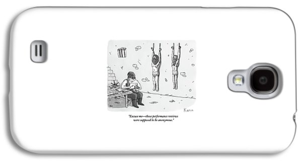 A Prisoner In A Dungeon Speaks To A Torturer Who Galaxy S4 Case by Zachary Kanin