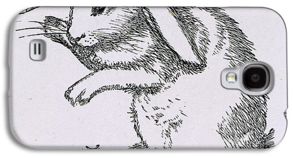 A Rabbit Galaxy S4 Case by British Library