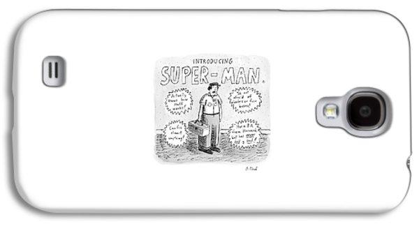 A Repair Man Is Introduced As Super-man Galaxy S4 Case