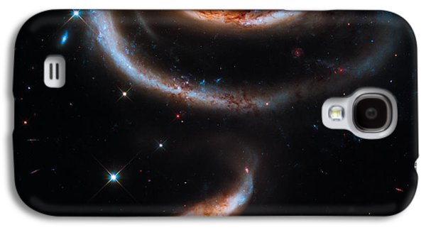 A Rose Made Of Galaxies Galaxy S4 Case by Marco Oliveira