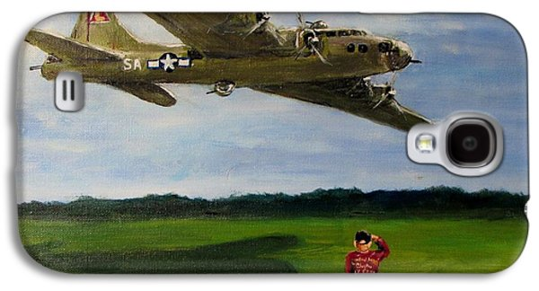 A Salute To The Greatest Generation Galaxy S4 Case by Jack Skinner