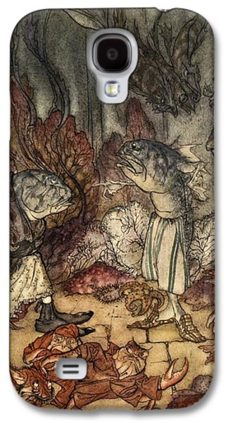 A Scaly Set Of Rascals, Illustration Galaxy S4 Case