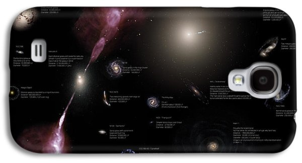 Condor Galaxy S4 Case - A Selection Of Galaxies Shown by Rhys Taylor