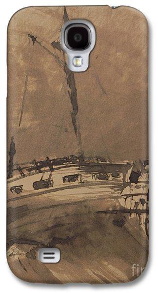 A Ship In Choppy Seas Galaxy S4 Case