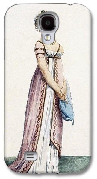 A Simply Designed Ladys Ball Dress Galaxy S4 Case by Pierre de La Mesangere