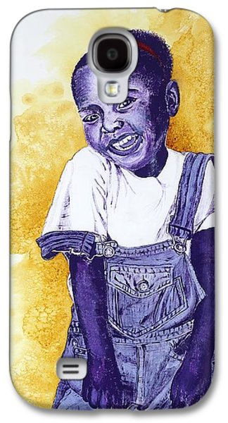 A Smile For You From Haiti Galaxy S4 Case by Margaret Bobb