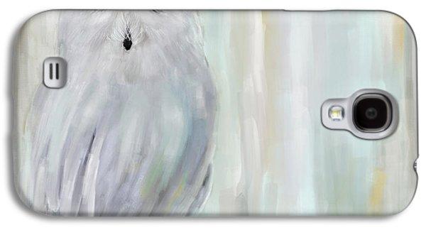A Snowy Stare Galaxy S4 Case