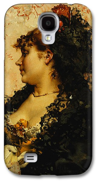 A Spanish Beauty Galaxy S4 Case by Frederik Hendrik Kaemmerer