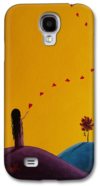 A Special Gift Is On The Way Galaxy S4 Case by Shawna Erback