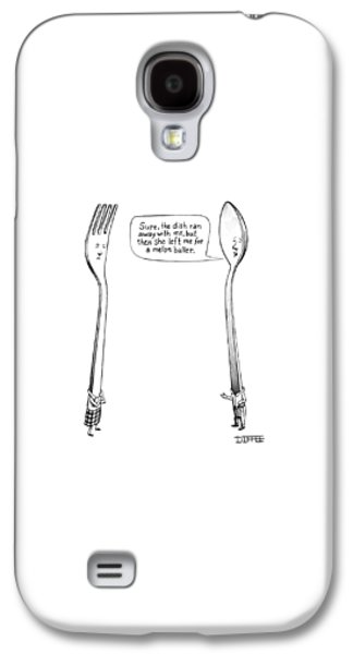 A Spoon Talks To A Fork Galaxy S4 Case