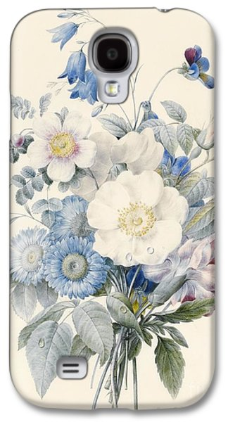 A Spray Of Summer Flowers Galaxy S4 Case by Louise D Orleans