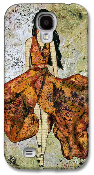 A Stroll Through Autumn Galaxy S4 Case