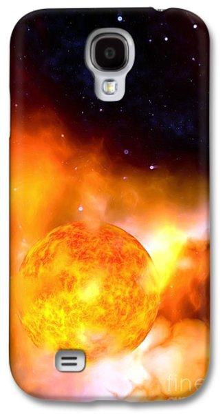 A Sun Rises Galaxy S4 Case