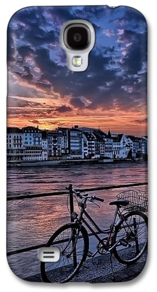 A Sunset Cycle By The Rhine Basel Galaxy S4 Case