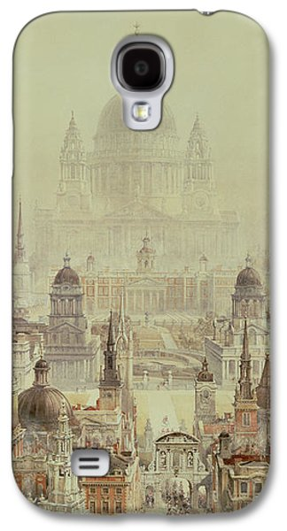 Wren Galaxy S4 Case - A Tribute To Sir Christopher Wren by Charles Robert Cockerell