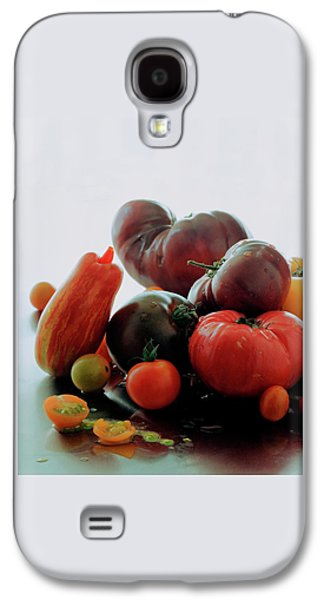 A Variety Of Vegetables Galaxy S4 Case by Romulo Yanes