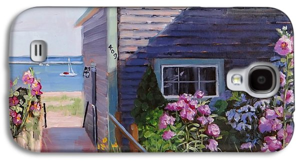 Town Galaxy S4 Case - A Visit To P Town Two by Laura Lee Zanghetti